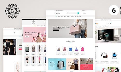 LUSH 时尚服饰/家具 Shopify主题