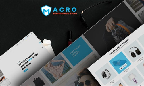 Macro 手表/鞋子/配件 Shopify主题
