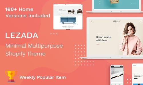 Lezada 电子产品/数码产品/时尚产品 Shopify主题