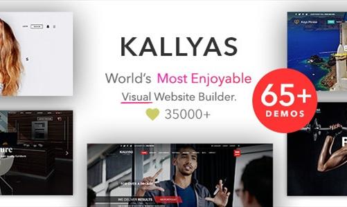 KALLYAS 创意 电子商务/时尚 Shopify主题