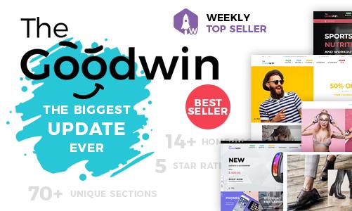Goodwin 电子产品/配件/工具 Shopify主题