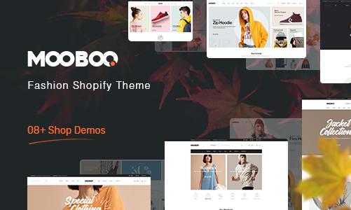 Mooboo 清洁/服装/珠宝 Shopify主题