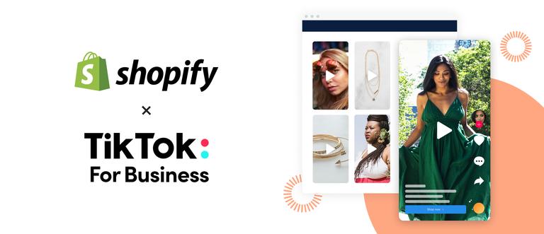 TikTok 与 Shopify 合作开展社交电子商务
